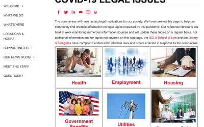 Corona Virus Legal Help